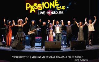 Passione live, il concerto-spettacolo al Teatro Bellini di Napoli