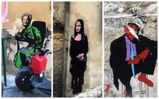 Street art a Napoli: mostra a cielo aperto ai Quartieri Spagnoli