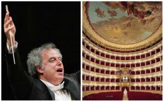 Il direttore d'orchestra Daniel Oren al Teatro San Carlo di Napoli