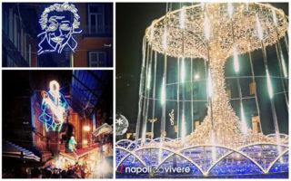 Le vie delle Luminarie a Napoli | Natale 2015