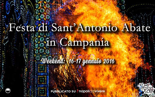 6 sagre da non perdere in Campania speciale Sant'Antonio Abate 16-17 gennaio 2016