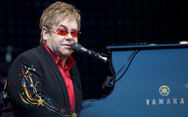 Elton John in concerto al Teatro degli Scavi di Pompei
