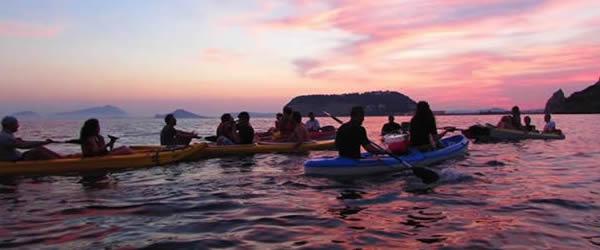 Pasquetta 2016 a Napoli in Kayak