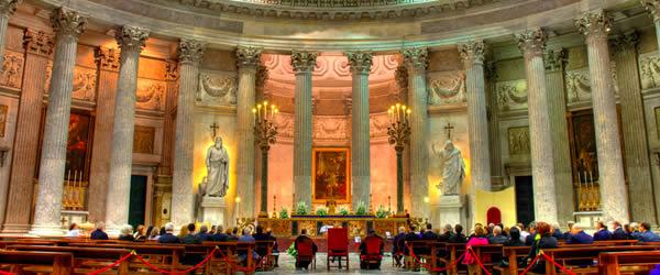 basilica san francesco di paola napoli interno