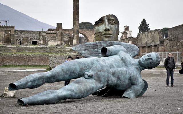 Le statue di Igor Mitoraj negli Scavi di Pompei