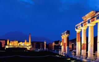 Scavi di Pompei ed Ercolano aperti di Notte a 2 euro