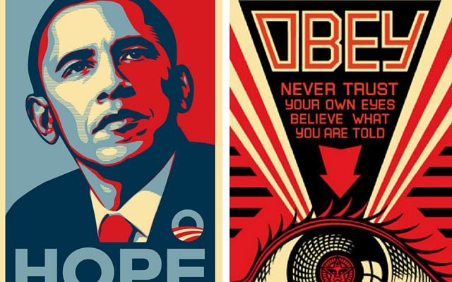 Shepard Fairey #OBEY in mostra gratis a Napoli