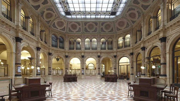 La sala principale di Palazzo Zevallos Stigliano