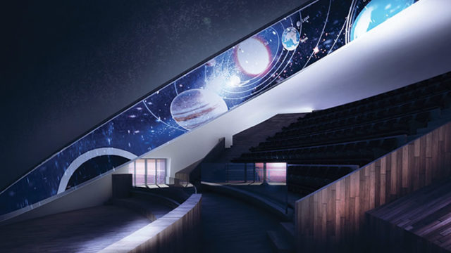 Il planetario di città della scienza