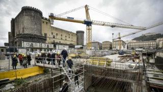 Metro di Piazza Municipio: è lo Scavo Archeologico più grande d'Europa