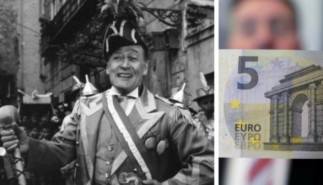 Una moneta da 5 euro per omaggiare Totò