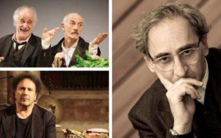 Concerto gratuito di Franco Battiato a Piazza Plebiscito per il Napoli Teatro Festival
