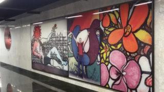 FeliMetrò, stazione dell'arte di Scampia della linea 1 | Scoprire Napoli