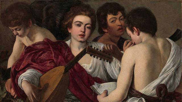 I musici di Caravaggio in mostra a Napoli a Palazzo Zevallos
