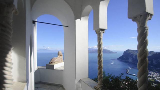 Concerti al tramonto a Villa San Michele a Capri