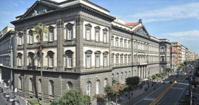 la sede di giurisprudenza dell'università federico II di Napoli