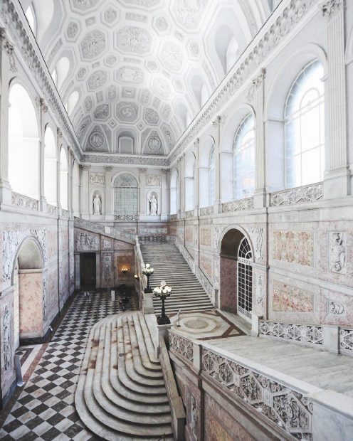 Cortile d'Onore di Palazzo Reale.