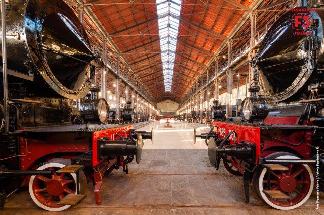 Treni storici al Museo di Pietrarsa
