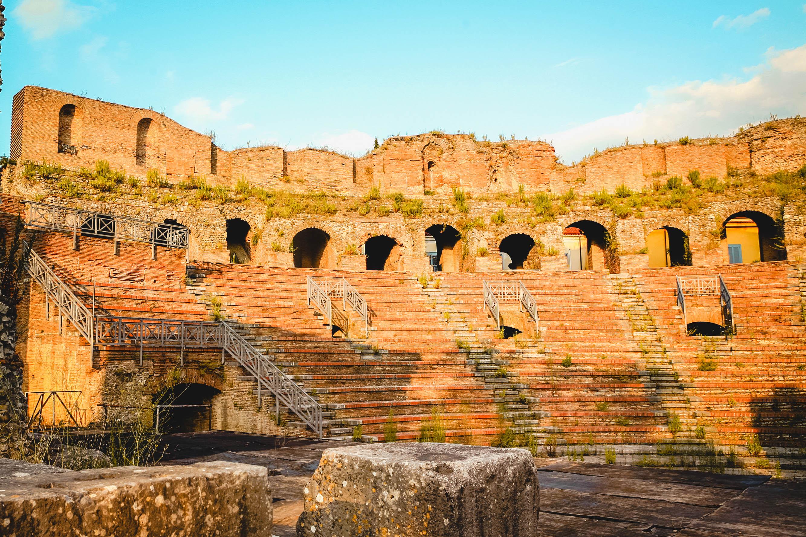 Teatro Romano Benevento San Vittorino