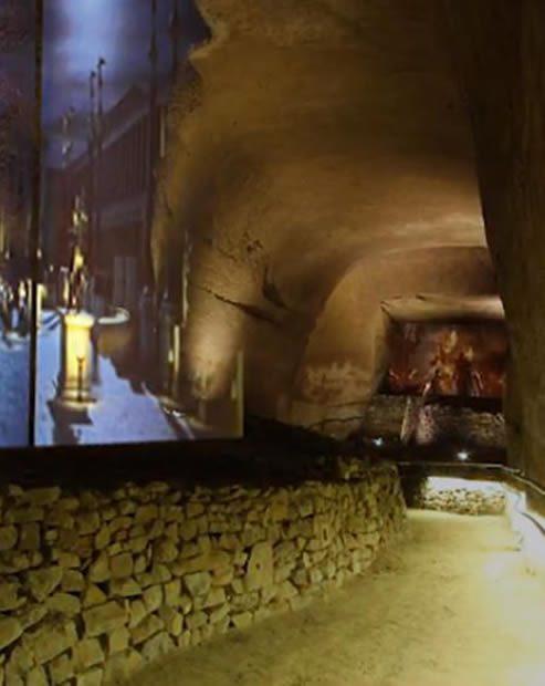 sotterranei della Pietrasanta Napoli