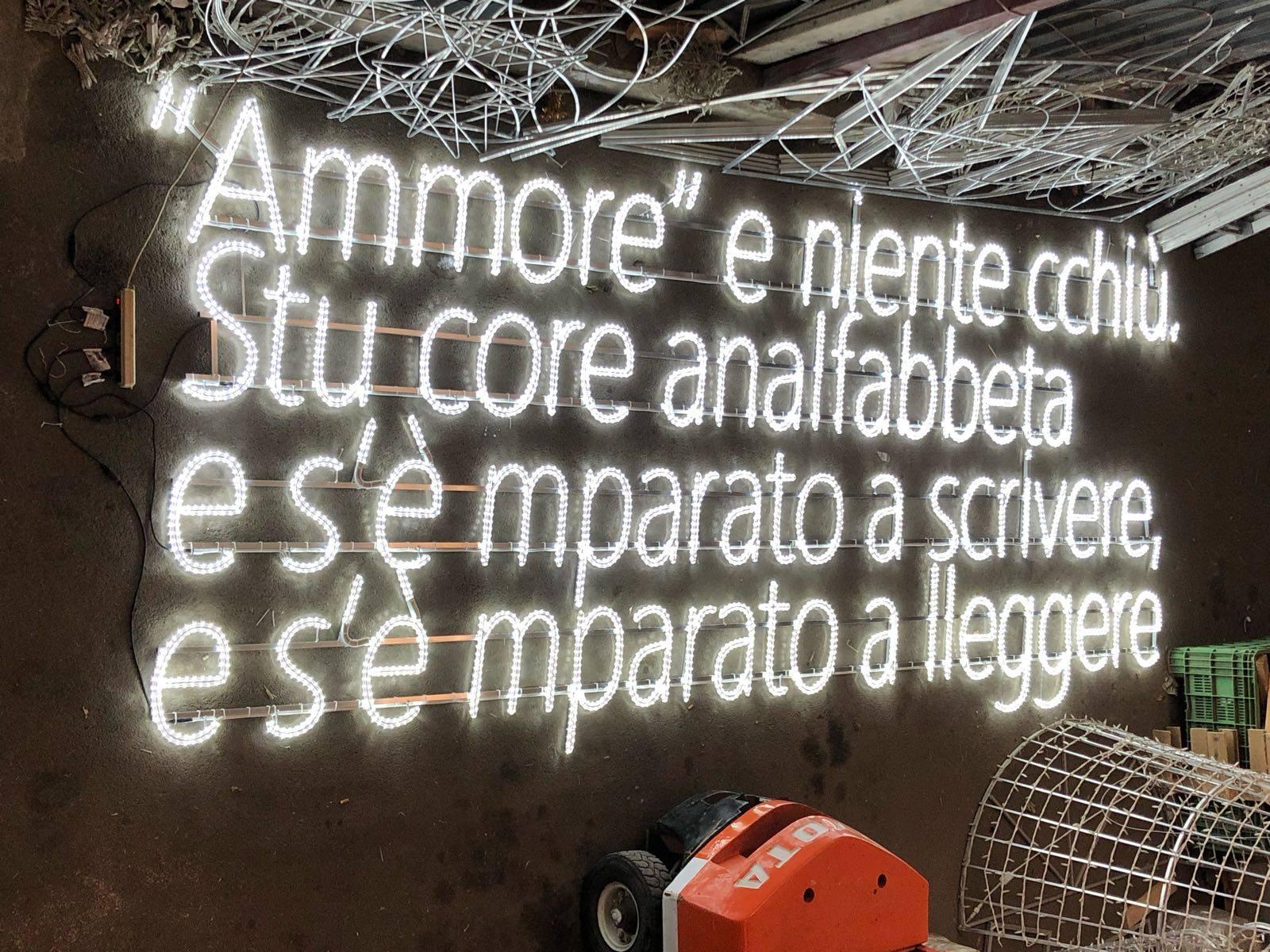 Luci d'Artista al Rione Sanità | Natale 2018 a Napoli