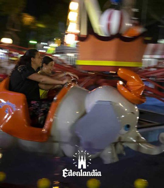 Dumbo, la giostra storica dell'Edenlandia
