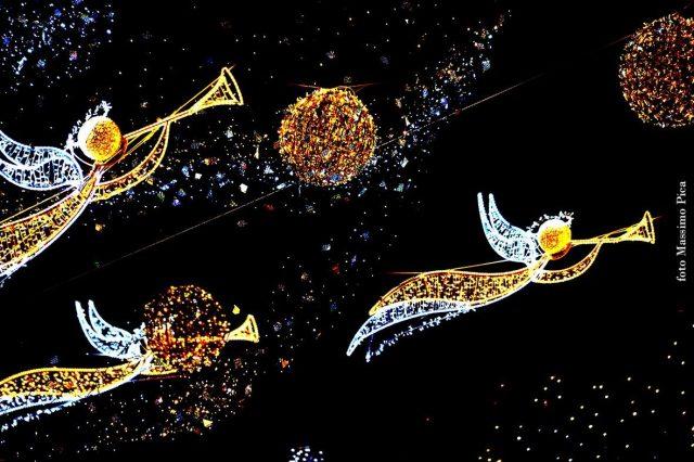 Le luci di Natale a Salerno