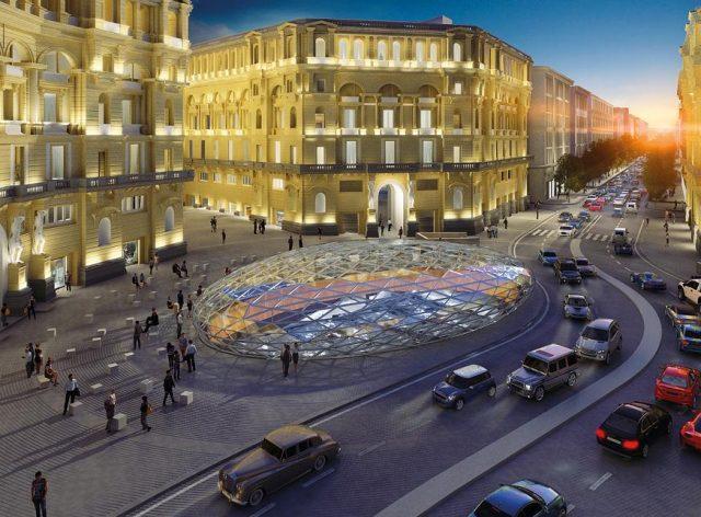 Progetto della metropolitana di Napoli