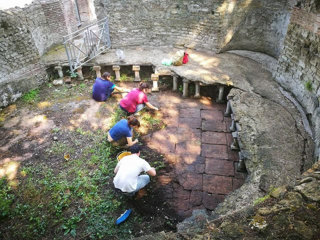 gli scavi di via terracina