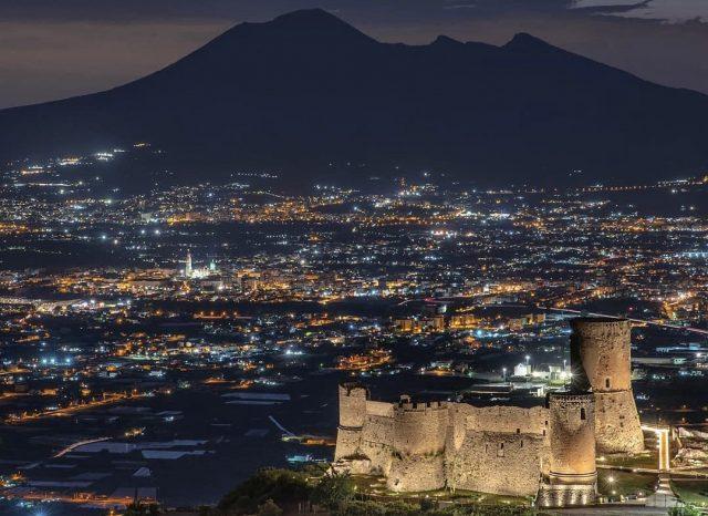 Il Castello di lettere di notte