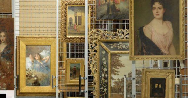 I quadri nei depositi del Museo di Capodimonte