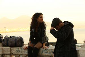 Una scena del videoclip Partenope di Alekos