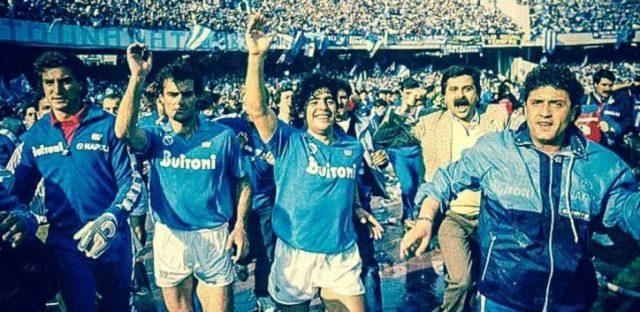 la squadra del napoli del 1982