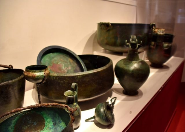 i resti della popolazione di pompei