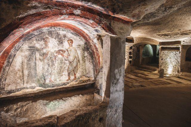 Catacombe di Napoli visita