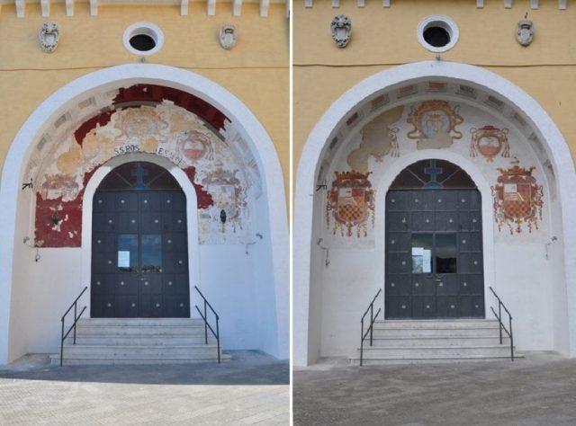il restauro della chiesa di Santa Maria del Parto a Mergellina