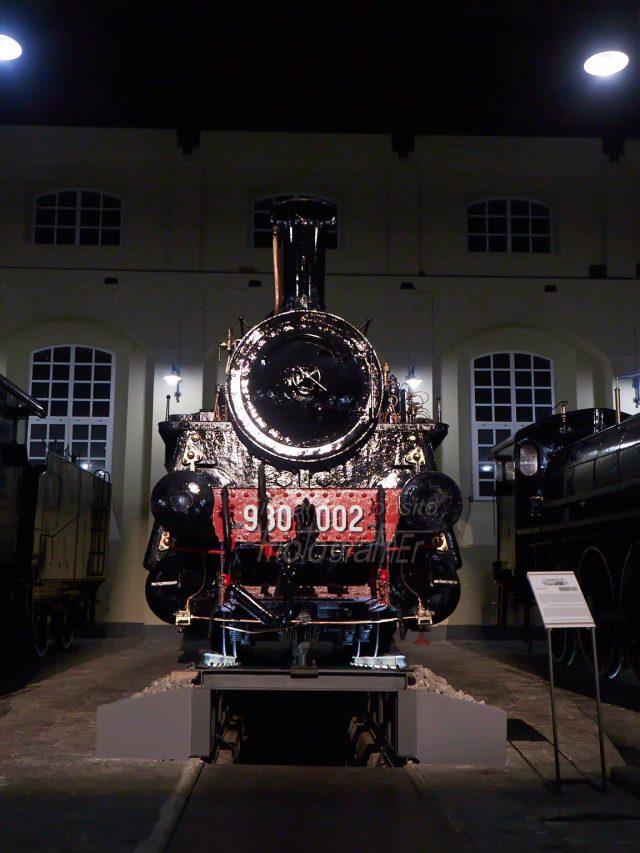 Treno storico al Museo di Pietrarsa