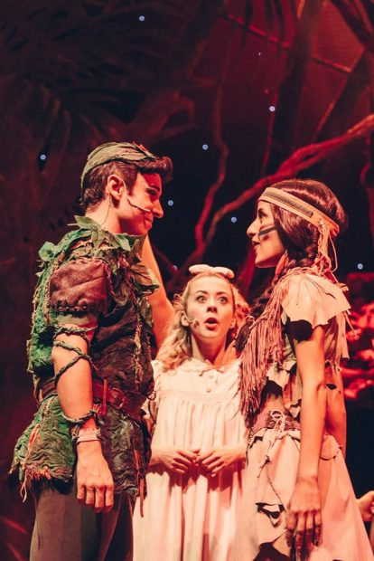 Peter Pan il musical napoli