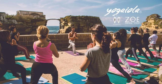 yoga alla gaiola