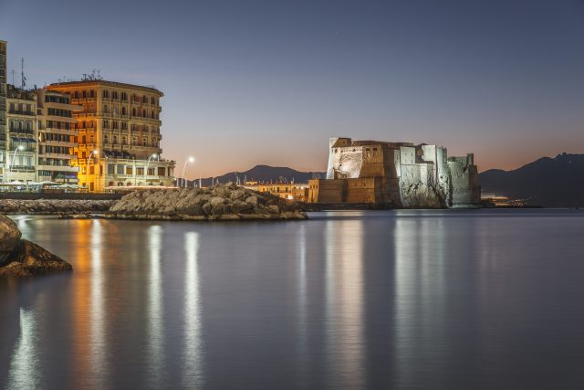 Castel dell'ovo di Notte