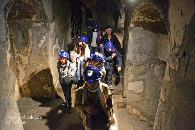 percorso sotterraneo Teatro Ercolano