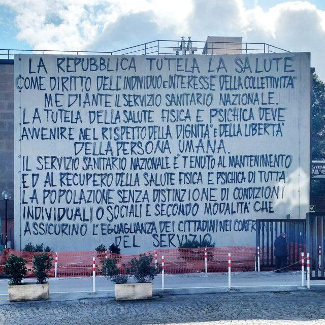 Il messaggio nascosto nel murales dedicato a Cardarelli di Jorit