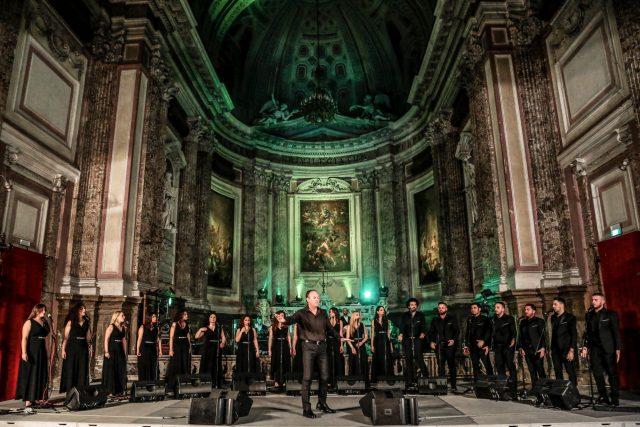 Coro nella chiesa di San Potito a Napoli