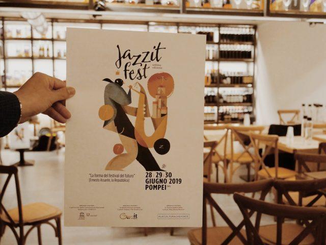 Locandina del JazzIt Fest 2019 a Pompei