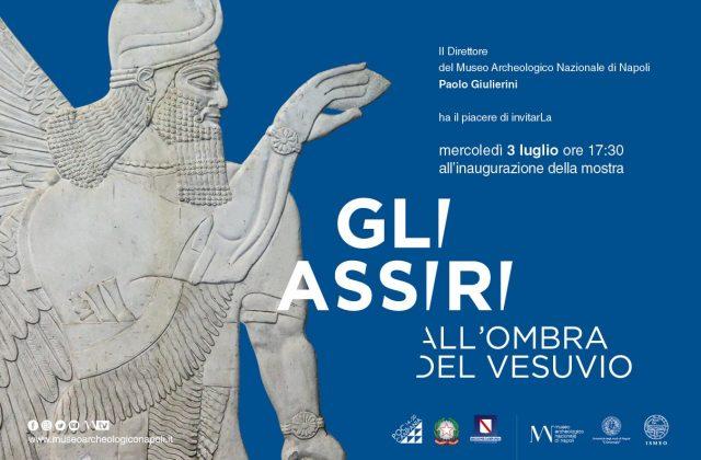 Gli Assiri all'ombra del Vesuvio, Locandina