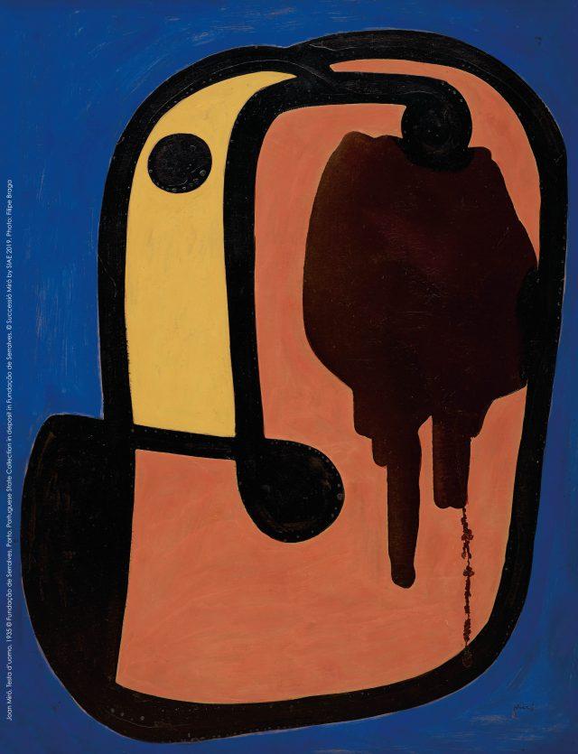 Joan Miró, Testa d'uomo,