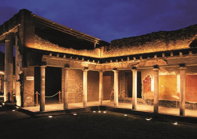 visite guidate serali scavi di pompei