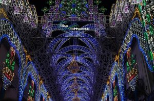 luminarie via duomo napoli