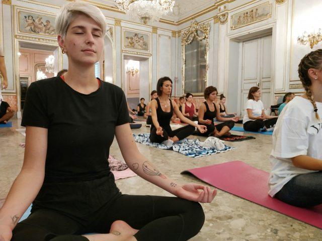 yoga a villa pignatelli 2020