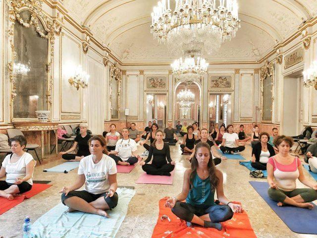 yoga villa pignatelli